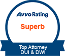 Avvo Rated Superb Top Attorney DUI & DWI