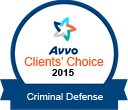 Avvo Clients Choice 2015 Criminal Defense